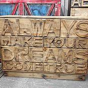 Для дома и интерьера ручной работы. Ярмарка Мастеров - ручная работа Комод в стиле лофт. Мебель в стиле лофт.. Handmade.