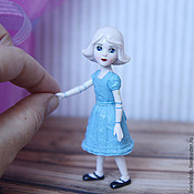 """Куклы и игрушки ручной работы. Ярмарка Мастеров - ручная работа """"Фарфоровая девочка из страны Оз"""" ООАК куклы 1 Toys. Handmade."""