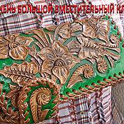 Сумки и аксессуары handmade. Livemaster - original item Leather wallet