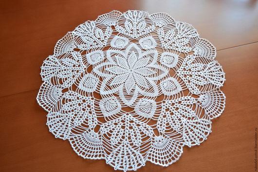 Текстиль, ковры ручной работы. Ярмарка Мастеров - ручная работа. Купить Салфетка крючком Волшебный цветок. Handmade. Салфетка крючком