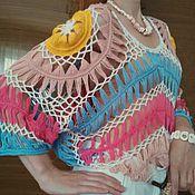 Одежда ручной работы. Ярмарка Мастеров - ручная работа джемпер летний Вояж. Handmade.