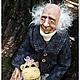 Коллекционные куклы ручной работы. Ярмарка Мастеров - ручная работа. Купить Ангел интерьерная кукла. Handmade. Разноцветный, подвижная кукла