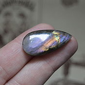 Материалы для творчества handmade. Livemaster - original item Labradorite. Cabochon 32 X 15 X 5. Handmade.