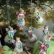 Подарки к праздникам ручной работы. Ярмарка Мастеров - ручная работа Маленькая фея (колокольчик). Handmade.