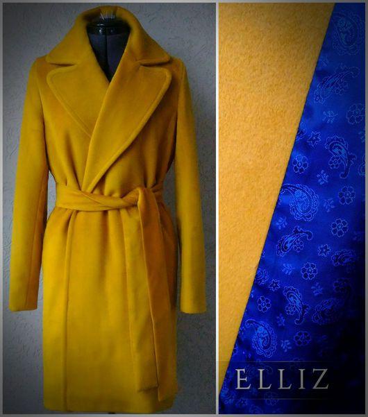 Верхняя одежда ручной работы. Ярмарка Мастеров - ручная работа. Купить Пальто  (шерсть,шелк). Handmade. Пальто, недорогое пальто