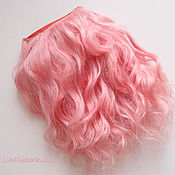 Материалы для творчества handmade. Livemaster - original item Copy of Copy of Mohair wefted doll hair. Handmade.