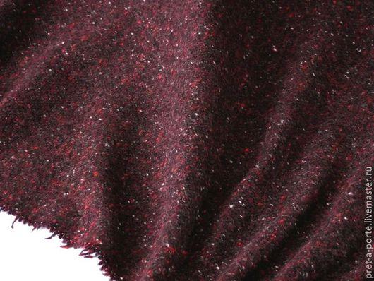 Шитье ручной работы. Ярмарка Мастеров - ручная работа. Купить D&G  шерстяной твид букле , Италия. Handmade. Итальянские ткани