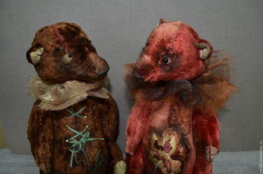 Мишки Тедди ручной работы. Ярмарка Мастеров - ручная работа. Купить мишки - Тедди. Handmade. Купить мишку Тедди, плюшевый