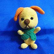 Куклы и игрушки ручной работы. Ярмарка Мастеров - ручная работа собачка Персик. Handmade.