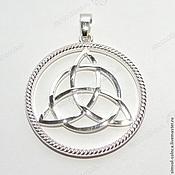 Русский стиль handmade. Livemaster - original item Triglav (Trinity, Shamrock, Triskel`, Tricort). Handmade.