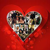 Дизайн и реклама handmade. Livemaster - original item For lovers, on February 14, for anniversary.. Handmade.
