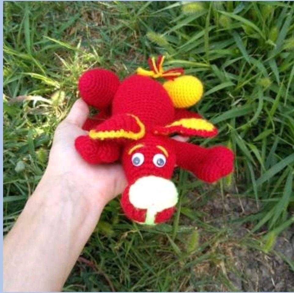 Собака, вязаная игрушка, Мягкие игрушки, Краснодар,  Фото №1