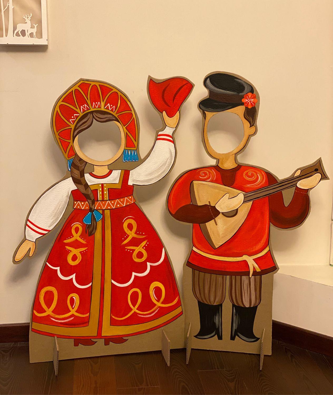 Фотозона из картона, Иллюстрации, Санкт-Петербург,  Фото №1