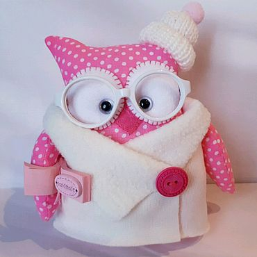 Куклы и игрушки ручной работы. Ярмарка Мастеров - ручная работа Совушка-книголюб. Handmade.