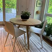 Столы ручной работы. Ярмарка Мастеров - ручная работа Столы: Обеденный стол из дуба Rodi v2. Handmade.