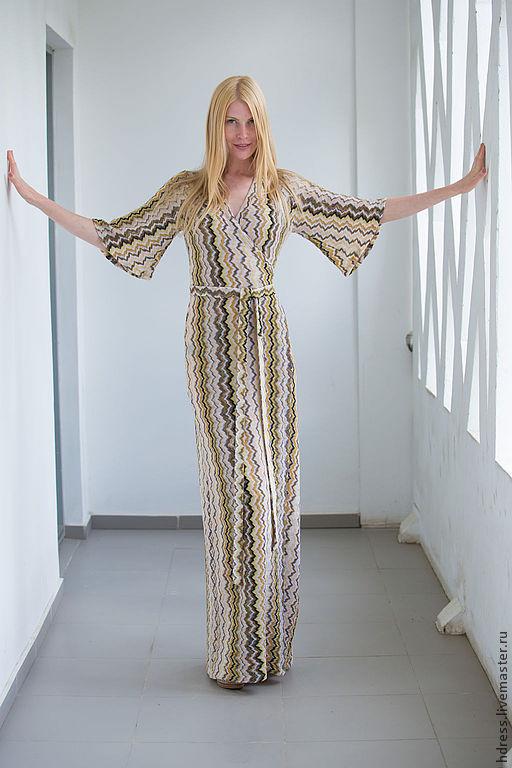 Миссони платье длинное