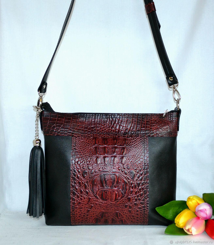 Небольшая кожаная сумочка – купить в интернет-магазине на Ярмарке Мастеров с доставкой