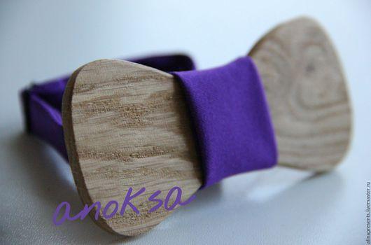 Галстуки, бабочки ручной работы. Ярмарка Мастеров - ручная работа. Купить галстук-бабочка из дуба. Handmade. Разноцветный, бабочка на шею