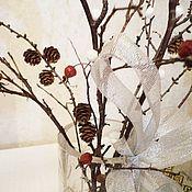 """Букеты ручной работы. Ярмарка Мастеров - ручная работа Зимний букет """"Метелица"""" из сухоцветов. Handmade."""