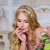 Свадебный салон handmade. Livemaster - original item Wedding sprig. Wedding decoration for hair. cherry blossoms.. Handmade.