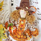 Куклы и игрушки ручной работы. Ярмарка Мастеров - ручная работа Акулина , добрая ведьмочка. Handmade.