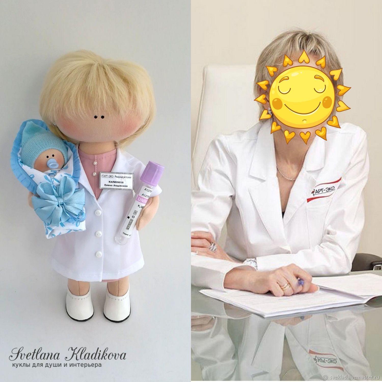 доктор репродуктолог, Портретная кукла, Тольятти,  Фото №1