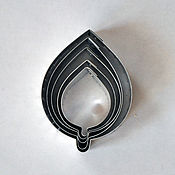 Материалы для творчества handmade. Livemaster - original item Cutter rose leaf size L. Handmade.