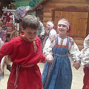 Русский стиль ручной работы. Ярмарка Мастеров - ручная работа Русский костюм для мальчиков 10 - 15лет. Handmade.
