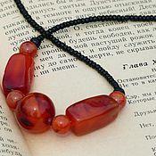 Винтаж handmade. Livemaster - original item IVANHOE... Stylish Necklace-Vintage. Handmade.
