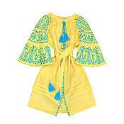 """Одежда handmade. Livemaster - original item Платье-вышиванка """"Воздушная Фантазия"""". Handmade."""