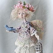 """Куклы и игрушки ручной работы. Ярмарка Мастеров - ручная работа Кукла из шерсти """"Предчувствие весны"""". Handmade."""