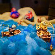 """Куклы и игрушки ручной работы. Ярмарка Мастеров - ручная работа Куклы-образы """"Ух, ты! Золотая рыбка."""". Handmade."""