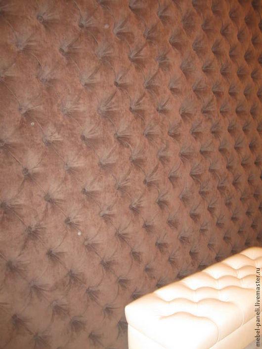 Мебель ручной работы. Ярмарка Мастеров - ручная работа. Купить Панели в каретной стяжке.Мягкие стеновые панели.. Handmade.