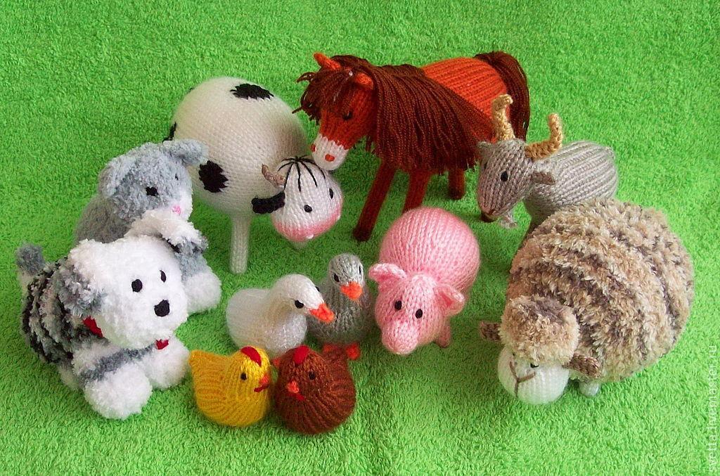 Вязание крючком животных картинки