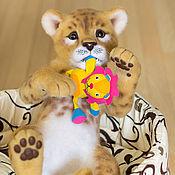 Куклы и игрушки ручной работы. Ярмарка Мастеров - ручная работа Львенок-царенок  Ричард. Handmade.