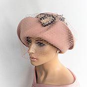 Аксессуары handmade. Livemaster - original item Pretty lady hat. Handmade.