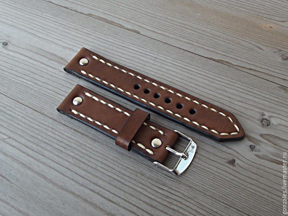 Ремень для часов кожаный 20 ремень кожаный для швейной машинки с ножным приводом