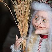 Куклы и пупсы ручной работы. Ярмарка Мастеров - ручная работа Баба Яга с приворотным зельем. Handmade.