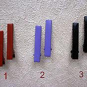 Материалы для творчества ручной работы. Ярмарка Мастеров - ручная работа Зажим, 5 см, металл, набор 10 шт, основа, заготовка, цветные. Handmade.