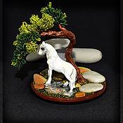 Цветы и флористика handmade. Livemaster - original item Wood bead