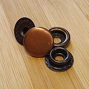 Материалы для творчества handmade. Livemaster - original item Ring button, 15 mm, Big accessories. Handmade.