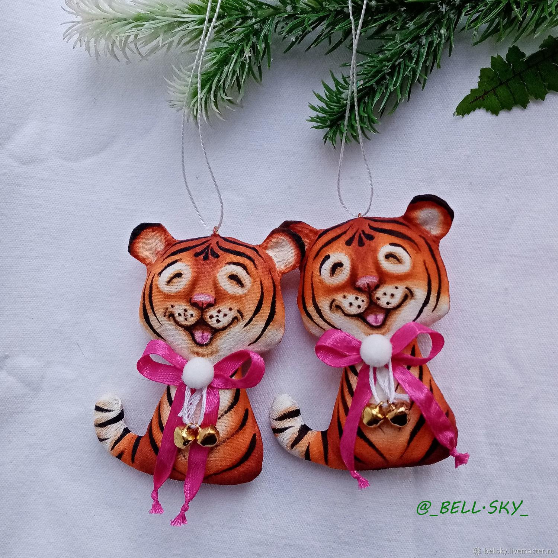 Тигр символ 2022, Мягкие игрушки, Одинцово,  Фото №1