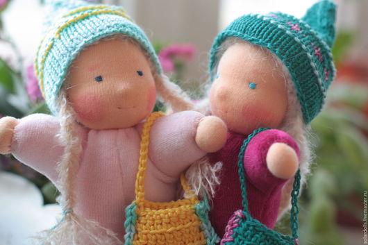 Вальдорфская кукла ручной работы. Гномы 15-17 см. SolarDolls, (Julia Solarrain)