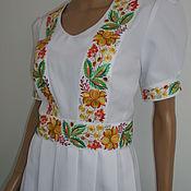 """Одежда ручной работы. Ярмарка Мастеров - ручная работа Блузка """" полевые цветы"""". Handmade."""