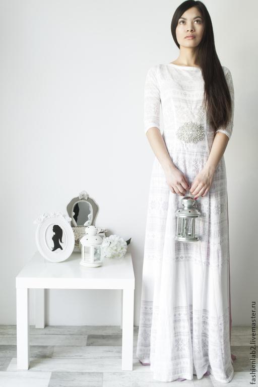 """Платья ручной работы. Ярмарка Мастеров - ручная работа. Купить Платье -чехол с юбкой """"Юная Роза"""" и Сваровски аппликацией. Handmade."""