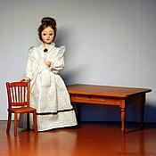 Куклы и игрушки ручной работы. Ярмарка Мастеров - ручная работа Стол и стул кукольные. Handmade.