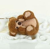 Куклы и игрушки handmade. Livemaster - original item Bear felted. Handmade.