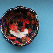 Посуда ручной работы. Ярмарка Мастеров - ручная работа Чаша малая Сочитание Яркого. Handmade.