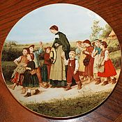 Винтаж handmade. Livemaster - original item Gorgeous, collectible plates And. Anchor, Langenthal, Switzerland. Handmade.