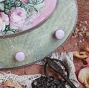 """Для дома и интерьера ручной работы. Ярмарка Мастеров - ручная работа Вешалка ключница """"Мгновение красоты"""". Handmade."""